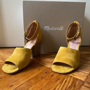 Madewell Alena Sandal in Cider